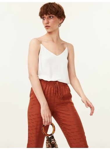 Twist Pantolon Taba